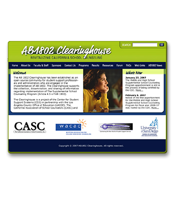 AB1802 Clearinghouse